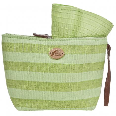Plážová taška Cappelli Straworld Toyo limetková