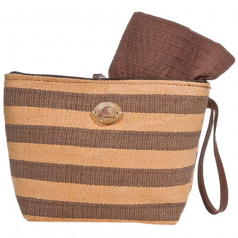 Plážová taška Cappelli Straworld Toyo hnědá
