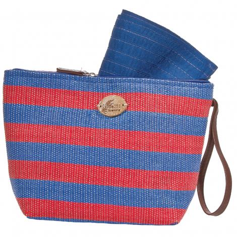 Plážová taška Cappelli Straworld Toyo červená