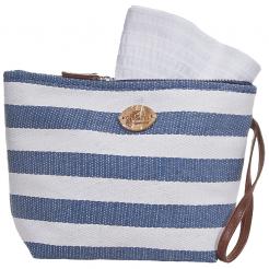 Plážová taška Cappelli Straworld Toyo tmavě modrá