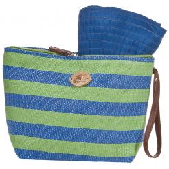 Plážová taška Cappelli Straworld Toyo zelená