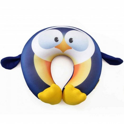 Dětský cestovní polštář na krk Travel Blue Fun Pillow Tučňák