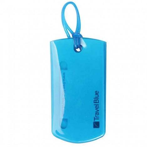 Jmenovka na zavazadla Travel Blue Jelly ID Tag (2ks) modrá