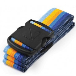 Popruh na kufry Travel Blue Luggage Strap modrý