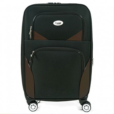 Cestovní kufr Laggy Costarica černý 44 l