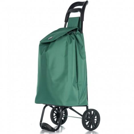 Nákupní taška na kolečkách Epic Ergo zelená