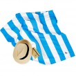 Rychleschnoucí osuška Dock&Bay Cabana modrá XL