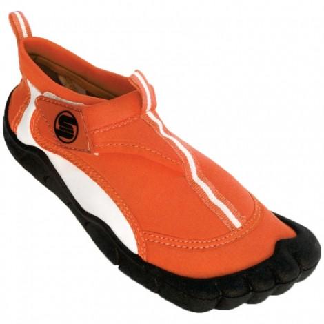 Dámské boty do vody Surf7 Velcro Toe oranžové
