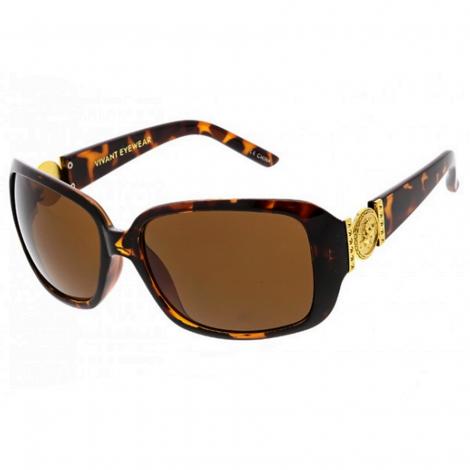 Sluneční brýle Zaqara Vivienne hnědé
