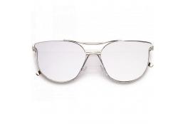 Sluneční brýle Zaqara Zoe stříbrné