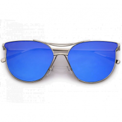 Sluneční brýle Zaqara Zoe modré