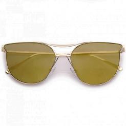 Sluneční brýle Zaqara Zoe zlaté