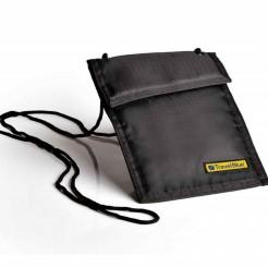Peněženka na krk Travel Blue Neck Wallet DL černá