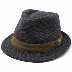 Pánský klobouk Stetson Crossgrain šedý
