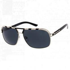 Sluneční brýle Zaqara Audrey stříbrné