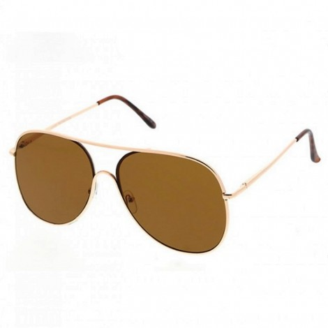 Sluneční brýle Zaqara Harper hnědé