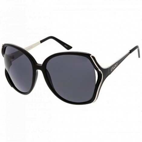 Sluneční brýle Zaqara Ella černostříbrné