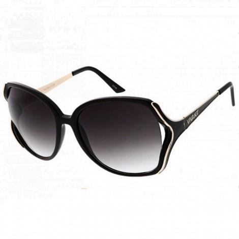 Sluneční brýle Zaqara Ella černozlaté