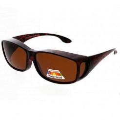Sluneční brýle Zaqara Emma hnědé