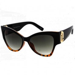 Sluneční brýle Zaqara Victoria černohnědé