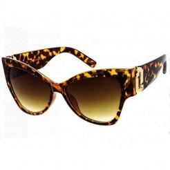 Sluneční brýle Zaqara Victoria hnědé