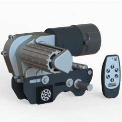 Pojezd karavanu Hellors Quattro Titanium Mover
