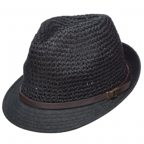 Dámský klobouk Scala Cro Toyo černý