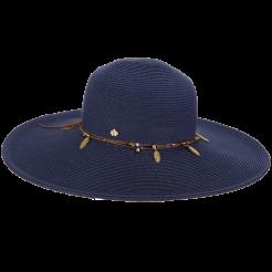 Dámský klobouk Cappelli Straworld Trim modrý