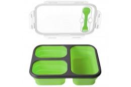 Svačinový box Bento zelený