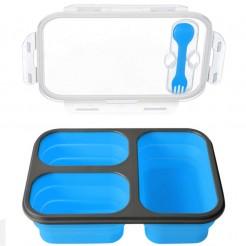 Svačinový box Bento modrý
