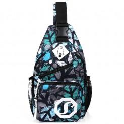Cestovní batoh Shoulder modrošedý
