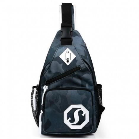 Cestovní batoh Shoulder šedý