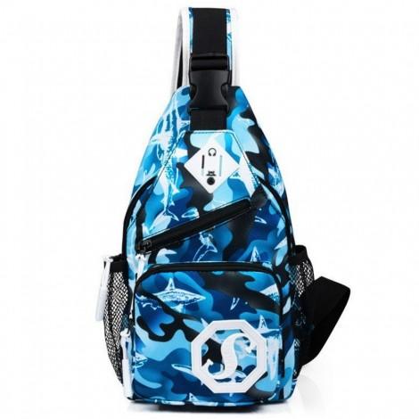 Cestovní batoh Shoulder modrý