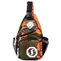 Cestovní batoh Shoulder oranžový