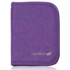 Peněženka na doklady Travelus fialová