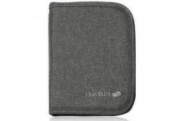 Peněženka na doklady Travelus šedá