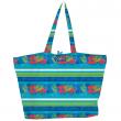 Plážová taška Copa Oxford Totes modrozelená
