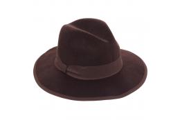 Dámský klobouk Scala Ella hnědý