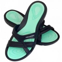Dámské pantofle Aqua Speed Panama tyrkysové