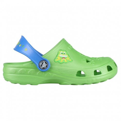 Dětské gumové boty Little Frog zelené