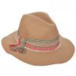 Dámský klobouk Scala Safari W/Woven béžový