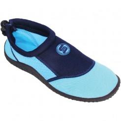 Dámské boty do vody Surf7 Slip on modré