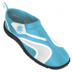 Dětské boty do vody Surf7 Velcro tyrkysové
