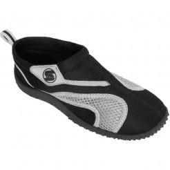 Dětské boty do vody Surf7 Velcro černé