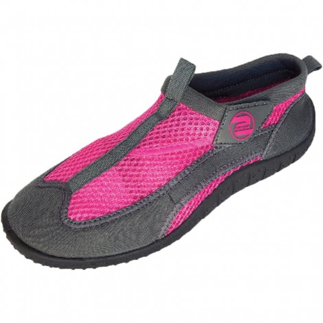 Dámské boty do vody Surf7 Velcro Mesh růžové