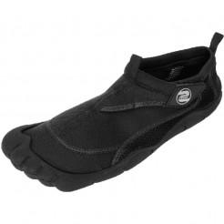 Pánské boty do vody Surf7 Velcro Toe černé