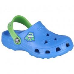 Dětské gumové boty Little Frog modré