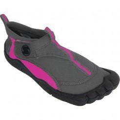 Dámské boty do vody Surf7 Velcro Toe šedé