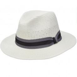 Pánský klobouk Scala Pensacola bílý