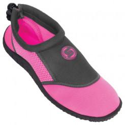 Dámské boty do vody Surf7 Slip on růžové